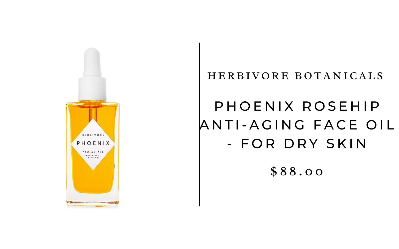 Herbivore Botanicals Phoenix Rosehip Anti-Aging Face Oil