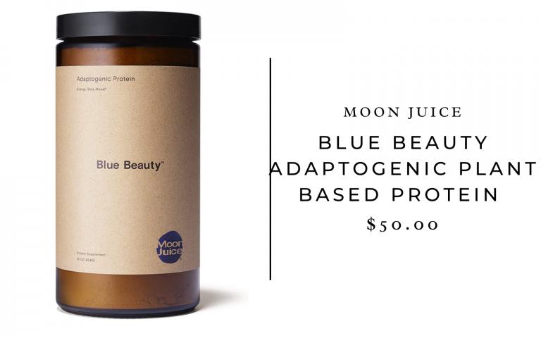 Moon Juice Blue Beauty Adaptogenic Plant-Based Protein