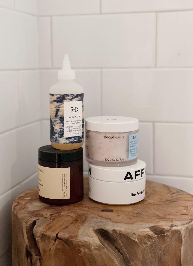 scalp care, shampoo, scalp scrub