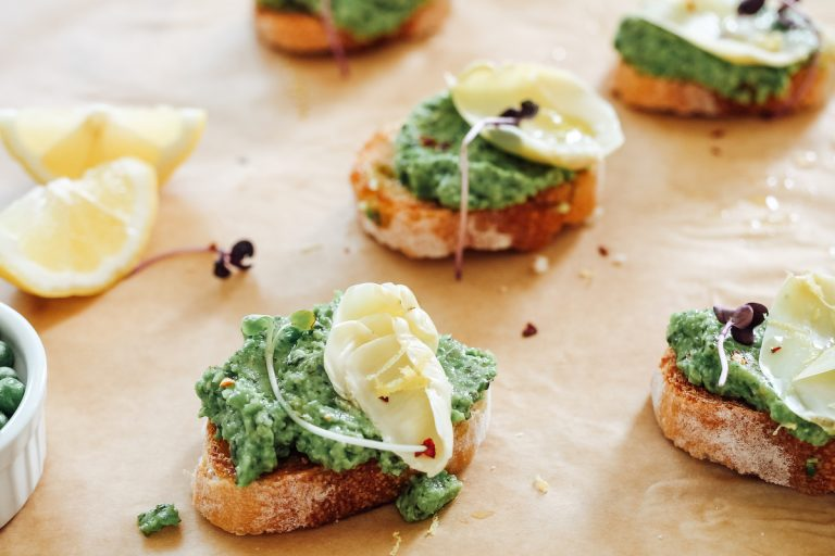 Photo of You will make a Simple Pea Crostini Recipe all summer long