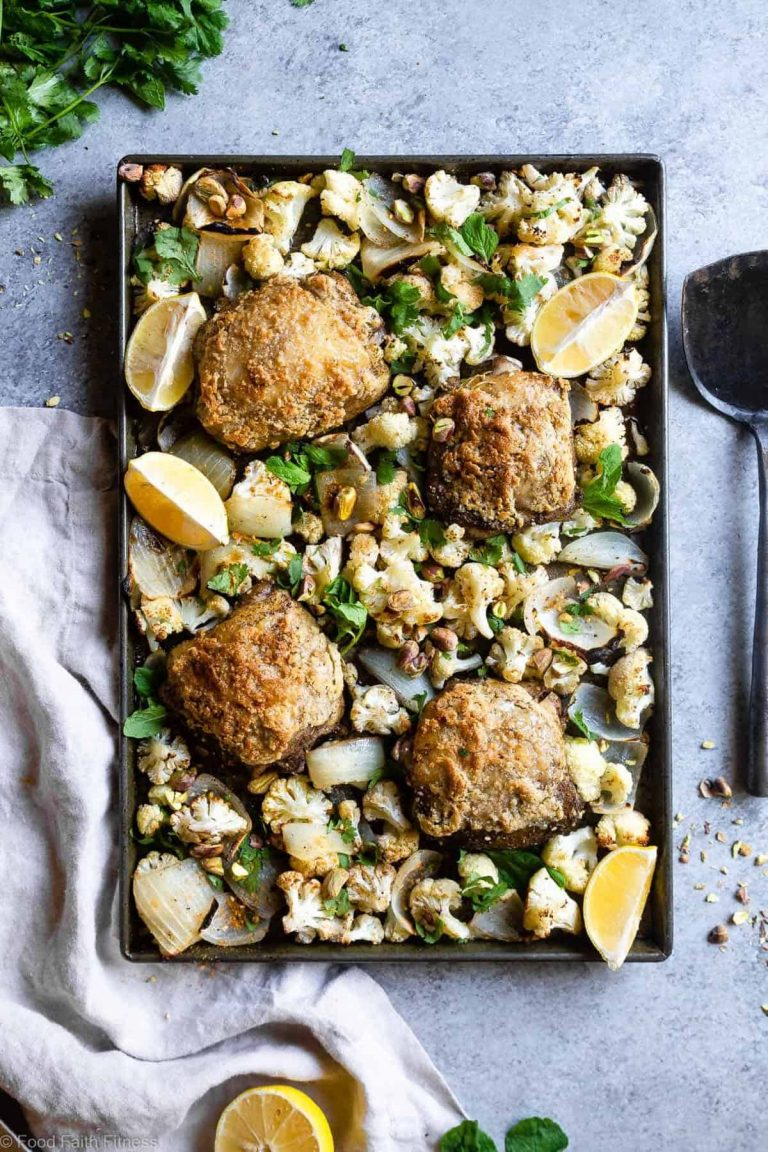 Paleo Za'atar Chicken Thighs — Food Faith Fitness