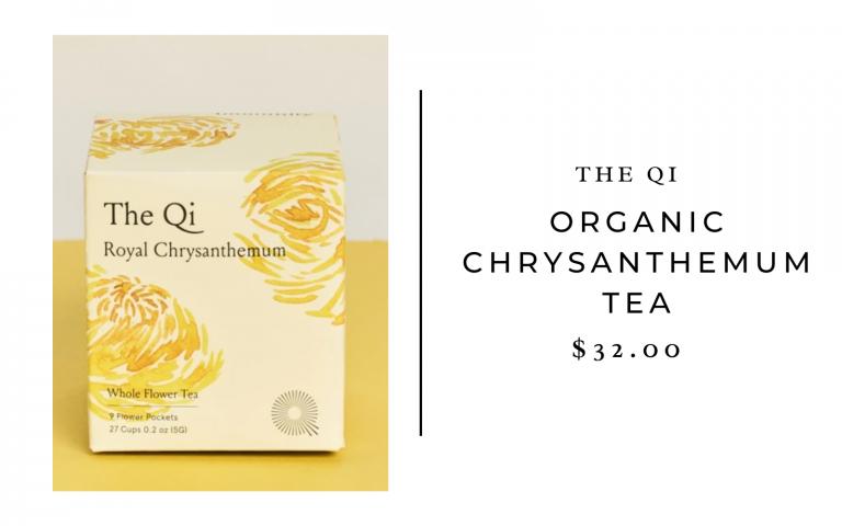 The Qi Organic Chrysanthemum Tea