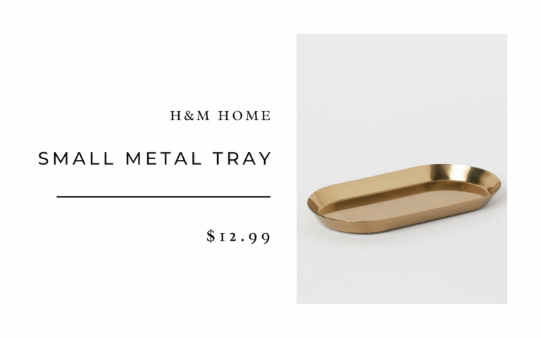 H&M Home Small Metal Tray