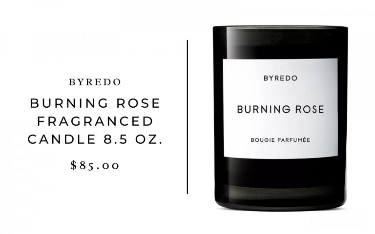 Byredo Burning Rose Fragranced Candle 8.5 oz.