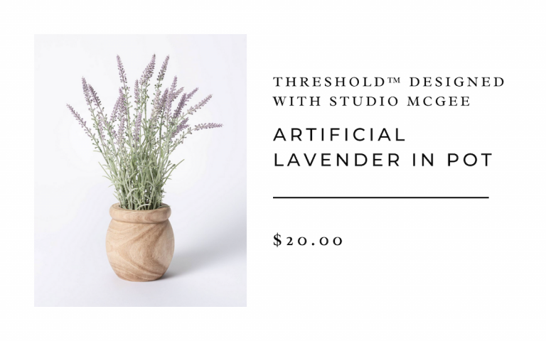 Threshold™ designed with Studio McGee Artificial Lavender in Pot