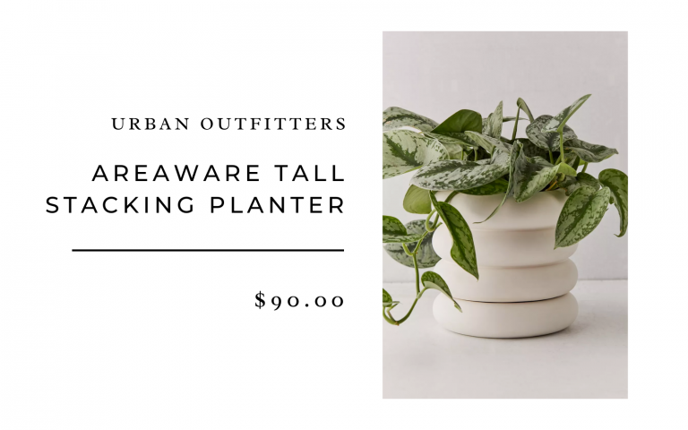 urban outfitters areaware tall stacking planters