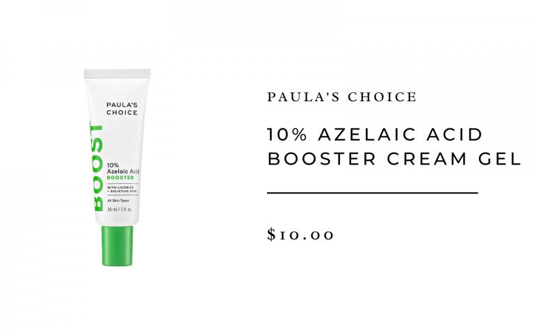 paula's choice azelaic acid booster cream gel