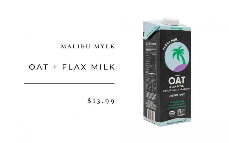 malibu mylk oat and flax
