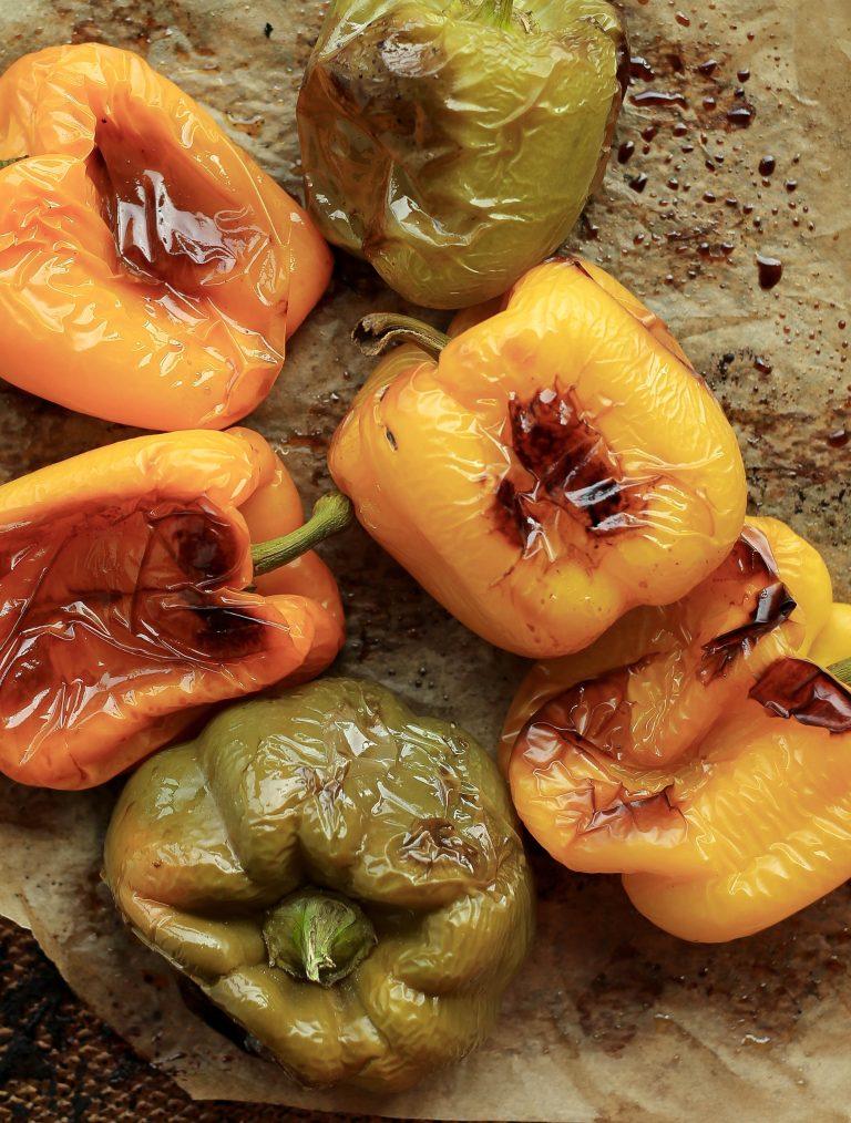 samosa stuffed bell peppers
