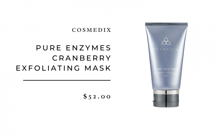 cosmedix pure enzymes mask