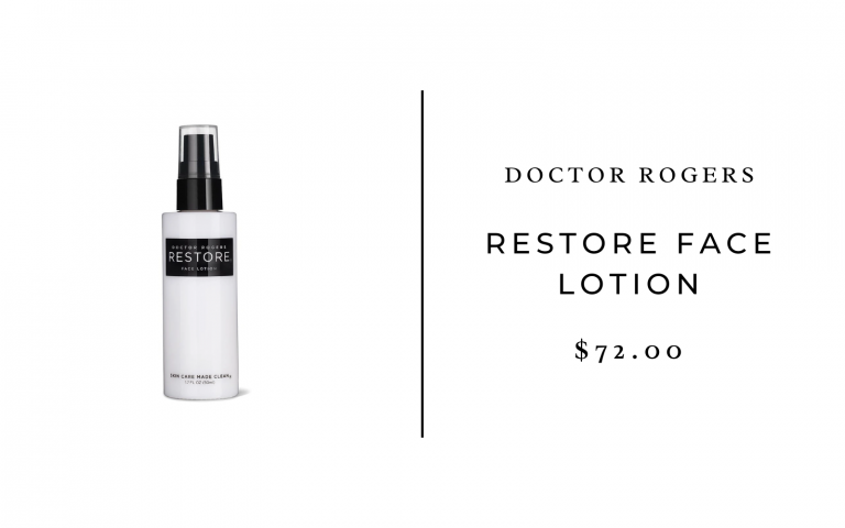 Dr. Rogers RESTORE Face Lotion