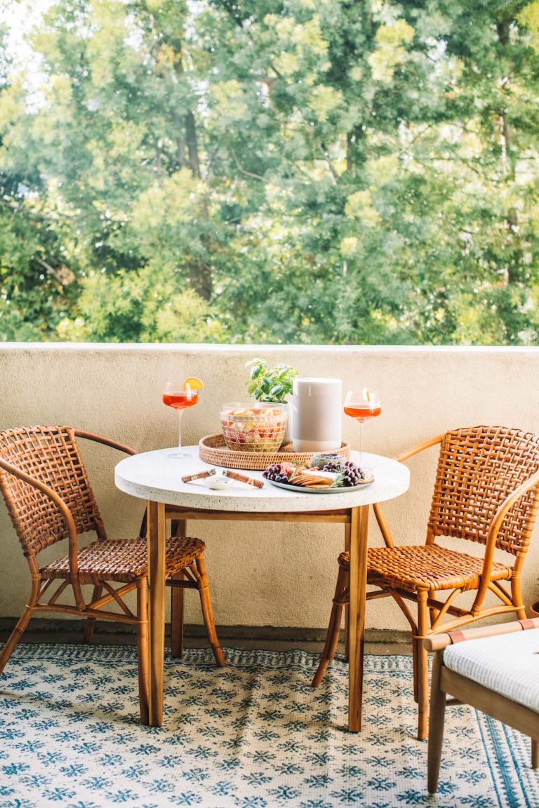 6 small patio design ideas to make the most of your space