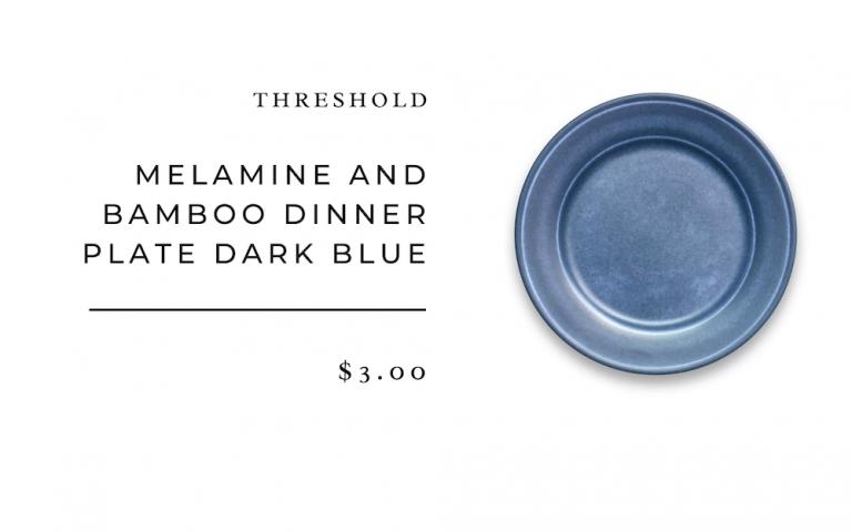 platos de cena azul umbral