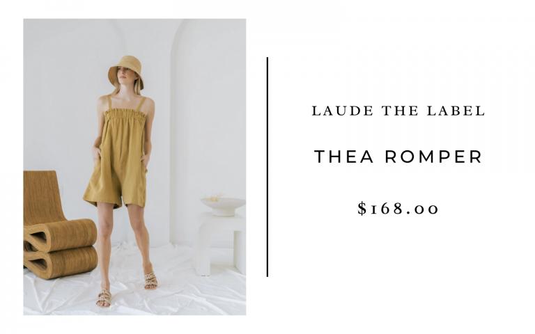 LAUDE the Label Thea Romper