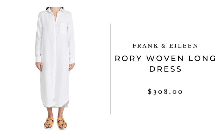 Frank & Eileen Rory Woven Long Dress