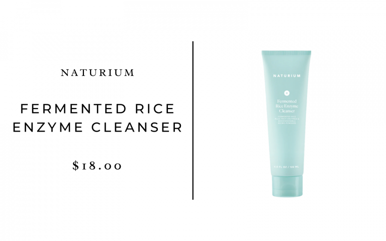 Naturium Fermented Rice Enzyme Cleanser