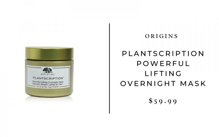 Origins Plantscription Powerful Lifting Overnight Mask, 2.5 Oz