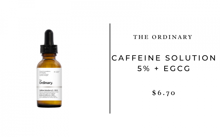 The Ordinary Caffeine Solution