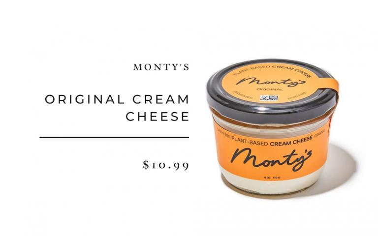 montys cream cheese