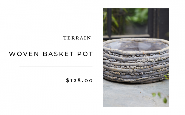 terrain woven basket pot