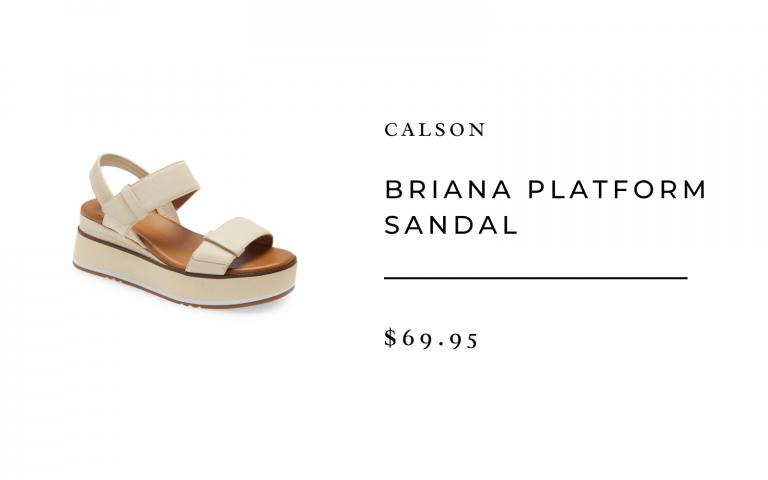 Briana Platform Sandal