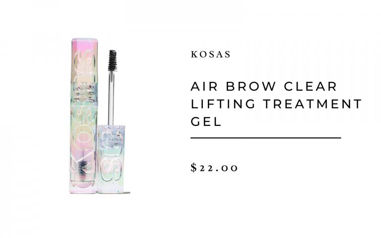 Kosas Air Brow Clear Lifting Treatment Gel, Clear