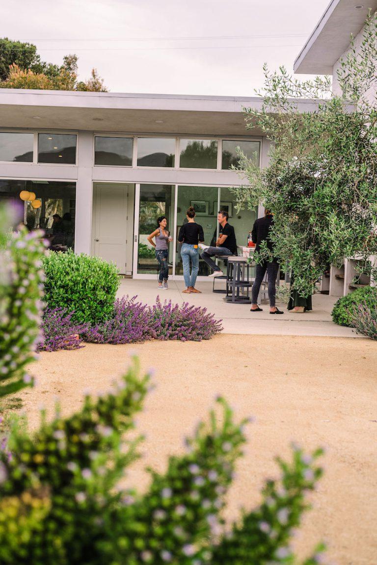 lavender rosemary garden - helene henderson home - malibu farm