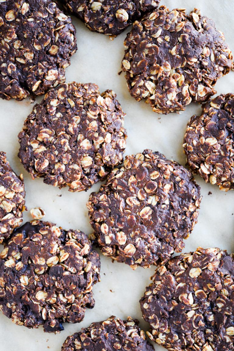 no bake oatmeal cookies -- fed and fit