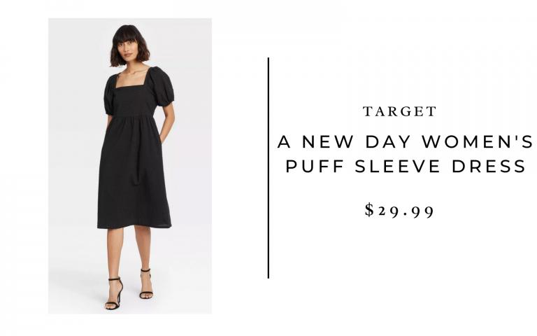 Target A New Day Women's Puff Sleeve Dress