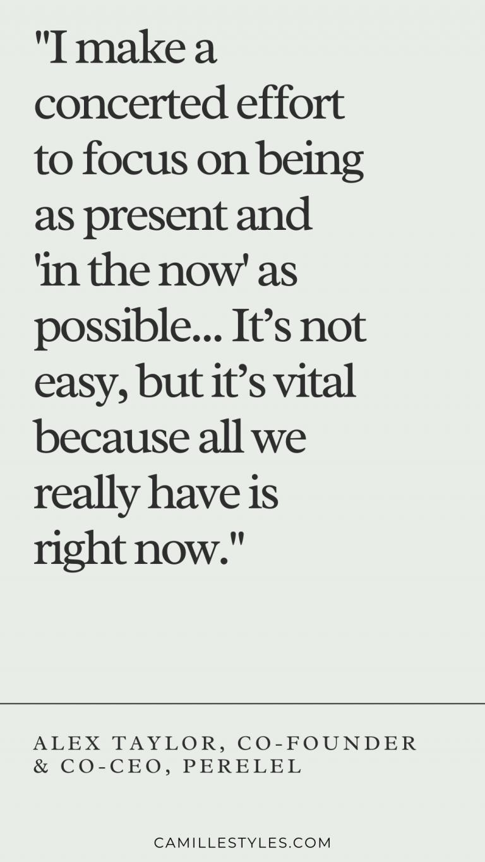Alex Taylor quote