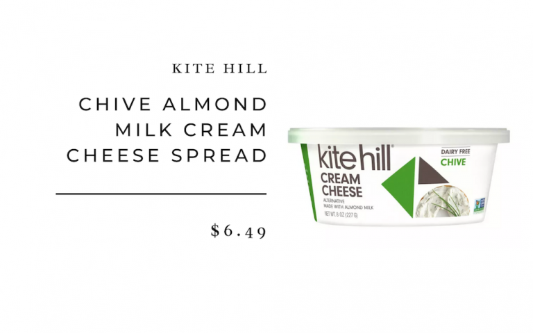 kite hill chive cheese