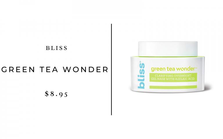 bliss green tea wonder cream
