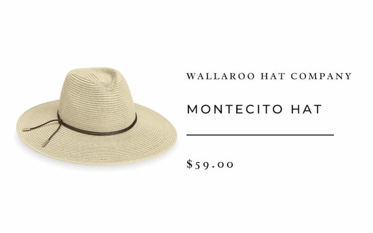 Wallaroo Hat Company Montecito Hat