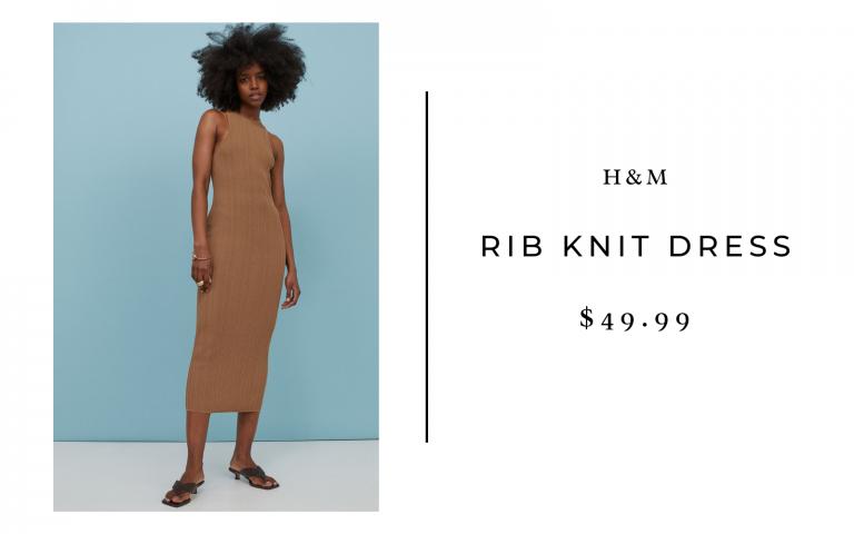 H&M Rib Knit Dress