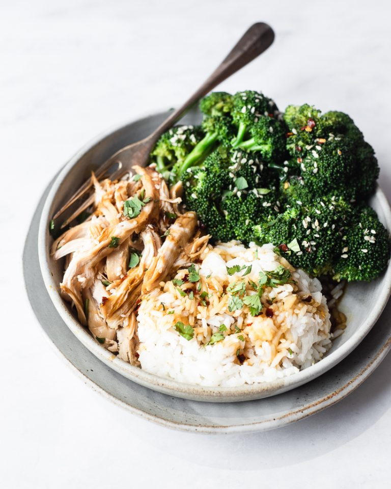 chicken teriyaki bowl from fed and fit