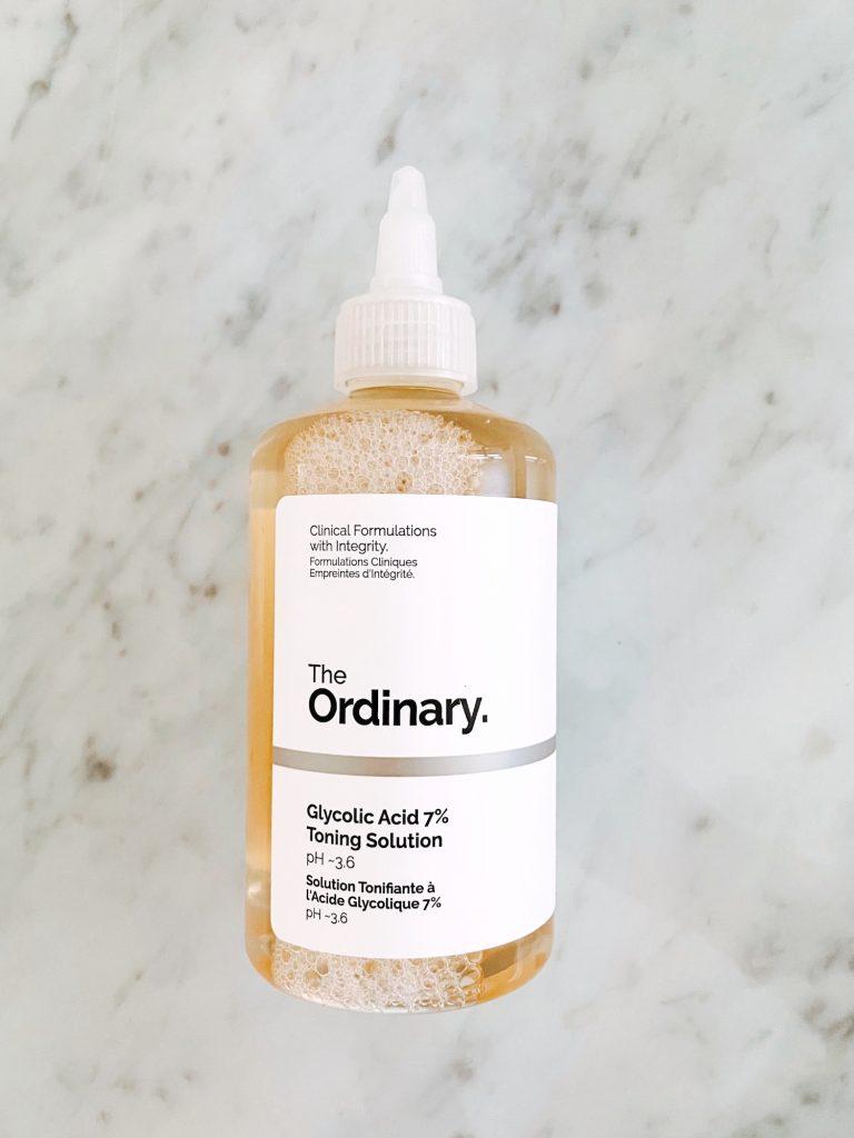 the ordinary glycolic acid toning solution