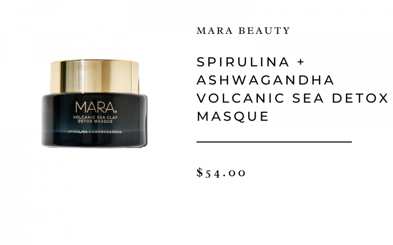 MARA Spirulina + Ashwagandha Volcanic Sea Detox Masque