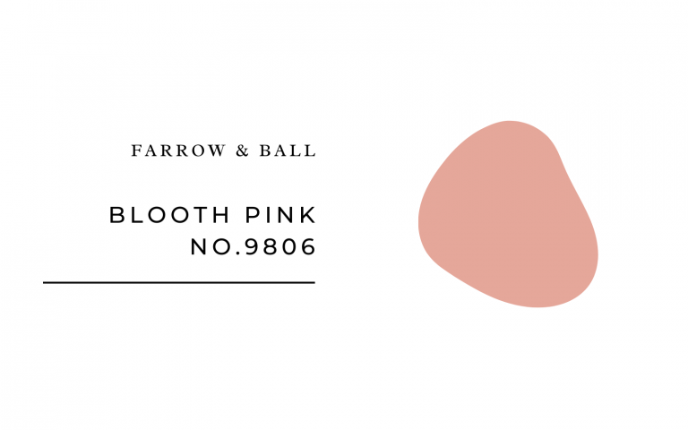 farrow and ball blooth pink
