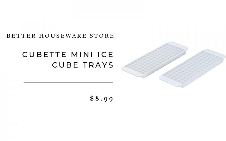 Cubette mini ice cube tray, set of 2
