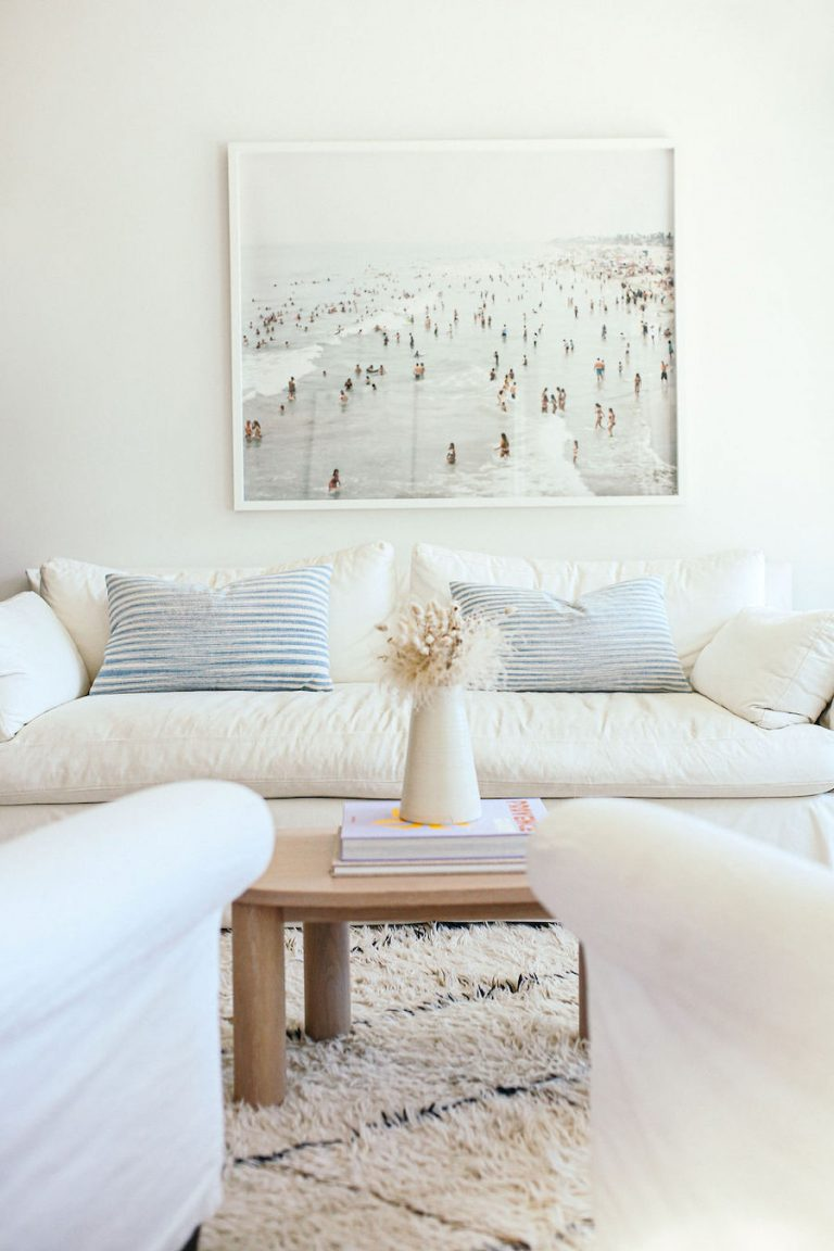 samantha wennerstrom, could i have that, white living room, couch