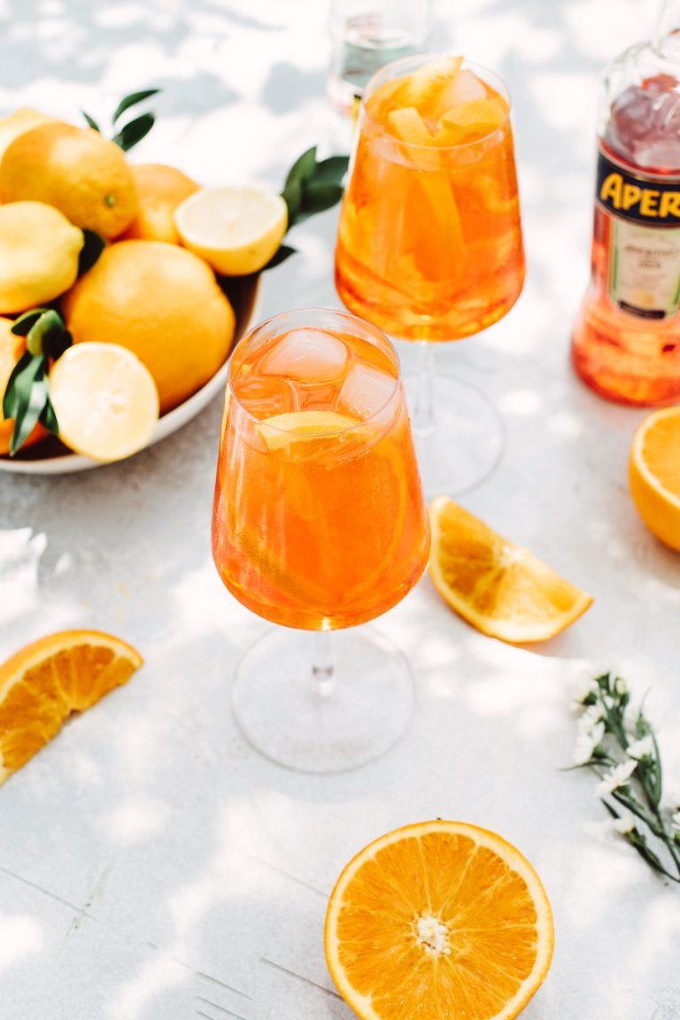 classic aperol spritz recipe-summer cocktails