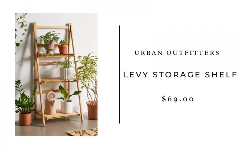 levy storage shelf uo