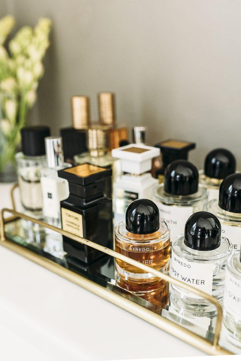 catt sadler's morning routine, skincare, perfume, fragrance