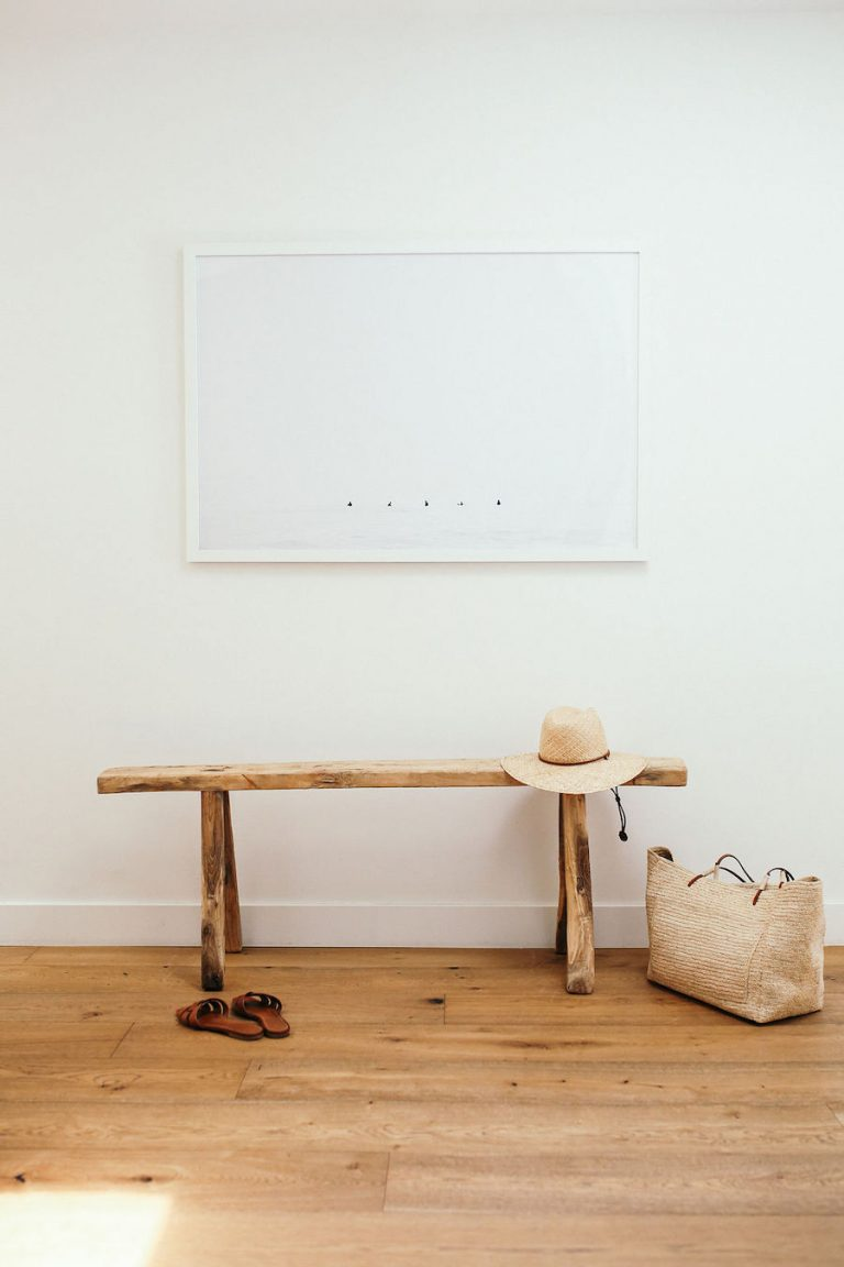 samantha wennerstrom, could i have that, mudroom, entryway, bench, hat