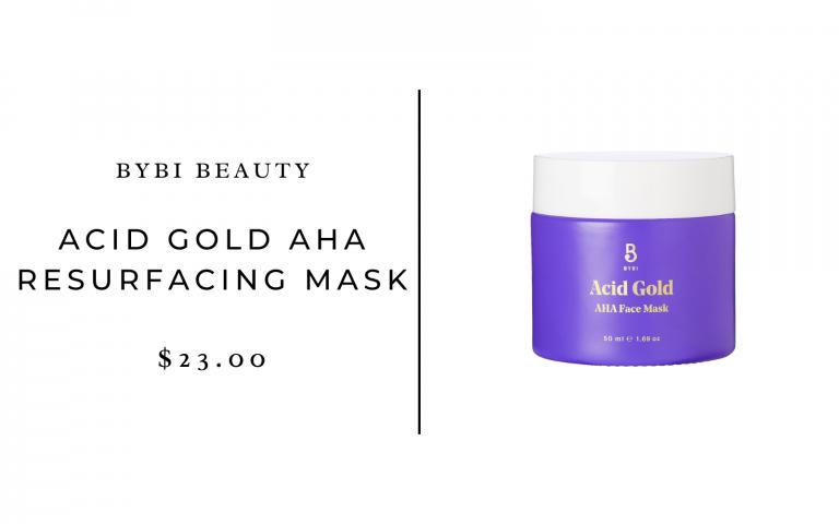 BYBI Beauty Acid Gold AHA Resurfacing Mask
