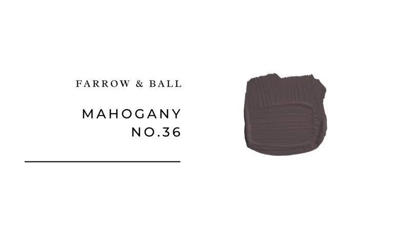 Farrow & Ball Mahogany