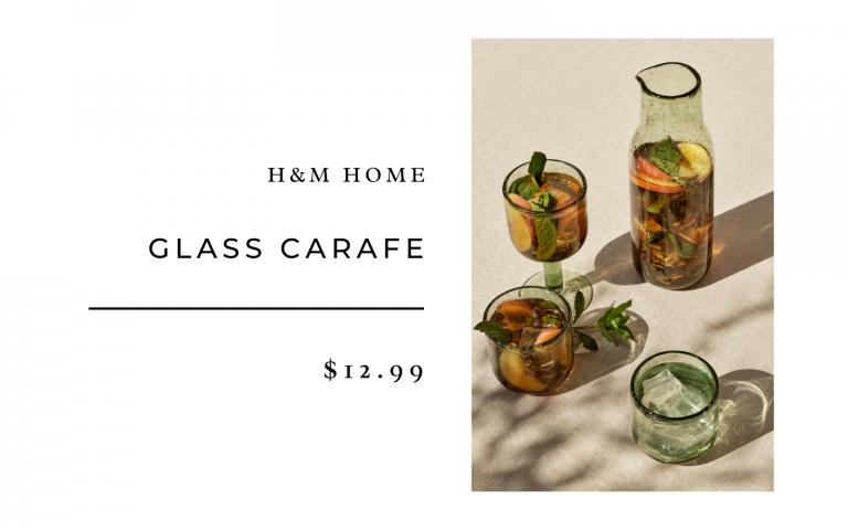 h&m Home Glass carafe