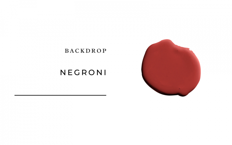 Backdrop Negroni