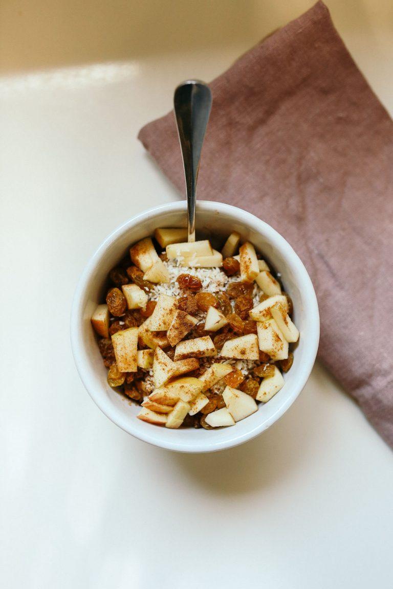samantha wennerstrom, breakfast, oatmeal