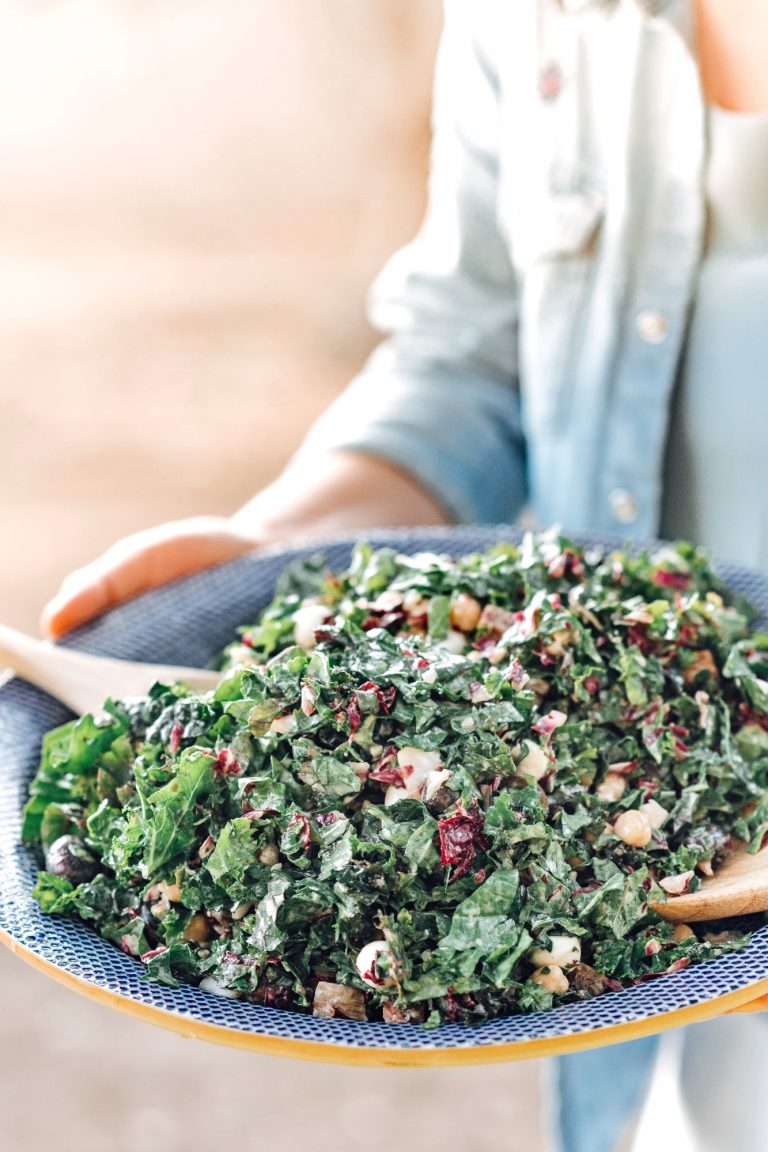 Kale Italian Chopped Salad